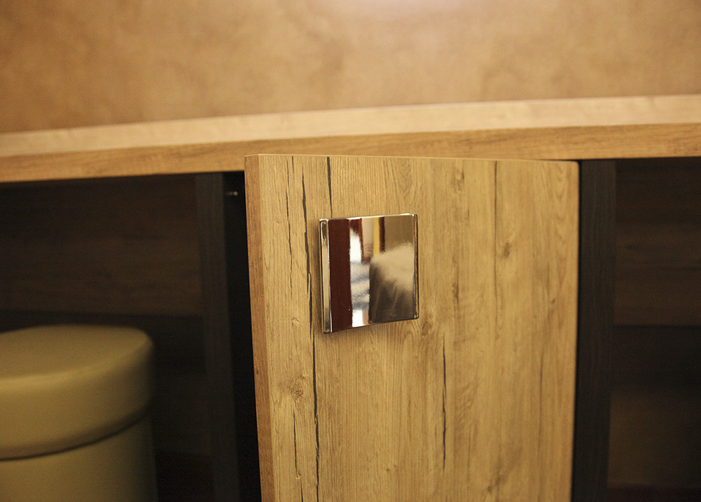 Door for mini bar cabinet (detail)