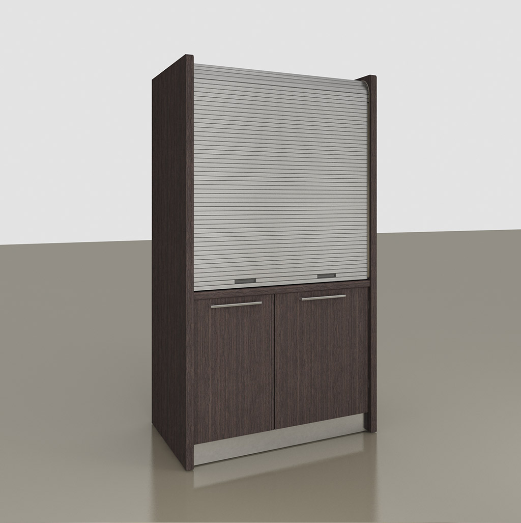 Mini Kitchen with rolling shutter K 142 model