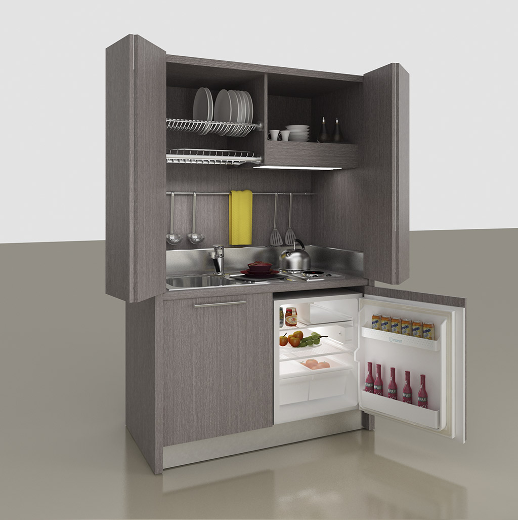 Mini Cuisine avec folding doors, K 143 model